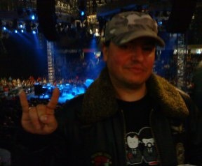 Antonio at Metallica concert