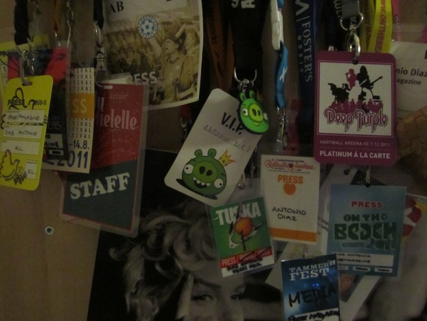 Press passes
