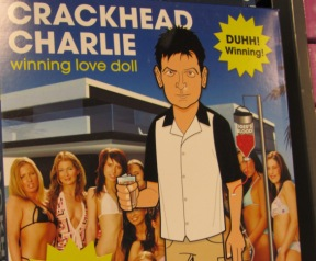 Charlie Sheen doll