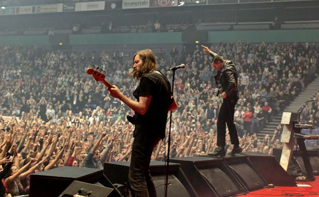 The Killers in Helsinki